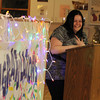 ALLEGRA BOVERMAN/Staff photo. Cape Ann Magazine. Gloucester: Alicia Silas, a graduate of the Wellspring House Adult Learning Initiative Program, was the class speaker during the program's graduation ceremony on Wednesday evening.