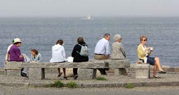 ALLEGRA BOVERMAN/Staff photo. Cape Ann Magazine. Rockport: Bearskin Neck.