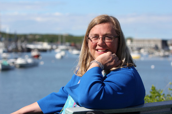 ALLEGRA BOVERMAN/Staff photo. Cape Ann Magazine. Gloucester: Gloucester Mayor Carolyn Kirk in Rocky Neck.