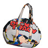 FOUND. <br /> Dick Tracy bowler bag, which has exterior cell phone pocket and four interior<br /> pockets; by custom order any print, starting at $50<br /> Photo by Jim Vaiknoras.