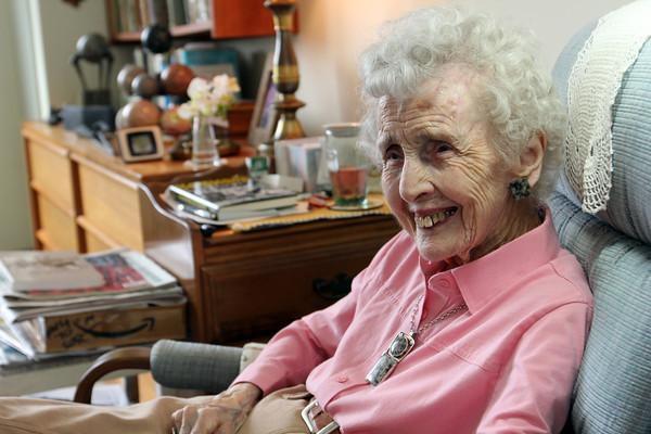 Barbara Erkkila at home in Gloucester. Photo by Allegra Boverman