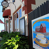 Ellen's Harborside Restaurant at T-Wharf in Rockport, close to Motif #1. Photo by Allegra Boverman.