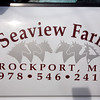 Rockport: Seaview Farm boards around 40 horses. The farm, which was established as a dairy farm in 1838, started boarding horses in the 1980's. Staff photo/Amy Sweeney