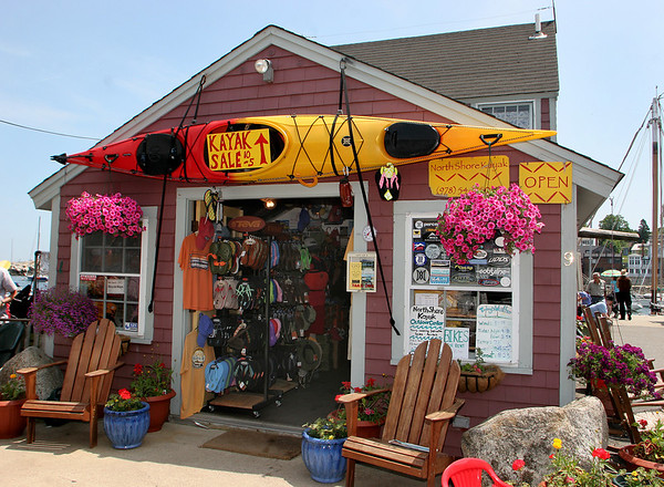 Rockport:North Shore Kayak Outdoor Center located at 9 Tuna Wharf offers a variety of tours. Starting at a 2 1/2, two mile tour as well as 4 mile overnight camping trip to Thatchers Island.  Staff photo/Mary Muckenhoupt