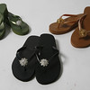 Jamie Kreitman bejeweled flip flops, which come in a variety of colors, can add a dazzle to any outfit from casual to summer dressed-up. Price ranges from $58 to $68. Available at Pisces at 96 Main St. in downtown Gloucester.