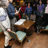 Peter and Joanne Souza lead the Sea Shanteys at Camerons every Tuesday night. Staff photo/Kate Glass