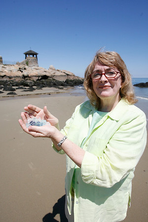 Rockport: Valerie Marclay, Cape Ann Magazine columnist. Photo by Kate Glass