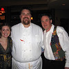 Jen Waitkus, head chef Bill Fogarty, and Mark McDonough of Alchemy Bistro hosted a benefit dinner for the Cape Ann Shakespeare Troupe.  Fogarty put together a menu comprised of spiced duck confit on pastry, grilled quail on mixed greens with wine verjus dressing, spit roasted venison with mulled wine sauce and fig tart in saffron cream.  The idea was to create a meal inspired by food of 1600s, from the era of the bard himself.