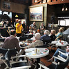 The Barbara and Al Boudreau Jazz Quartet plays at the Studio Restaurant on Rocky Neck on Sunday's during the summer. Desi Smith Photo.