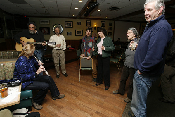 Peter and Joanne Souza lead the Sea Shanteys at Camerons every Tuesday night.