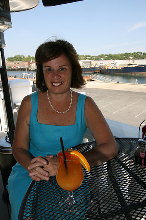 Sheree DeLorenzo, owner of Seaport Grille. Photo by Kate Glass