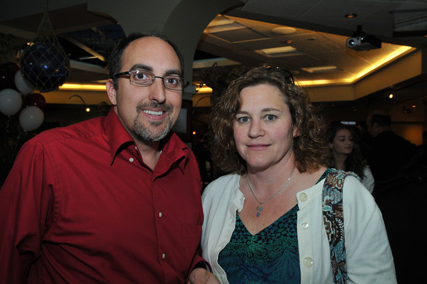 Gloucester: Greg and Kellie Verga Attended the fund- raiser for the GHS Athletics, at Lattatude 45 on Thursday night.Desi Smith Photo/Gloucester Daily Times. April 29,2010.