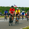 "Amy Sweeney/Staff photo.  Over 600 bicyclists took in the beauty of Cape Ann for the 13th annual Tour de Cure and raised over $300,000.  ""Beautiful seacoast with spectacular scenery "" said Phil Slagle Chairman of the ride."