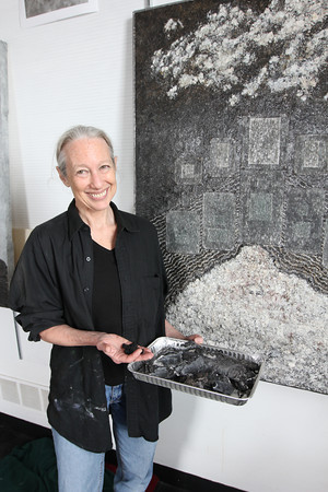 Gloucester artist Susan Erony. Photo by Kate Glass
