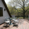 The deck at Joyce Fossa's home.<br /> Photo by Amy Sweeney