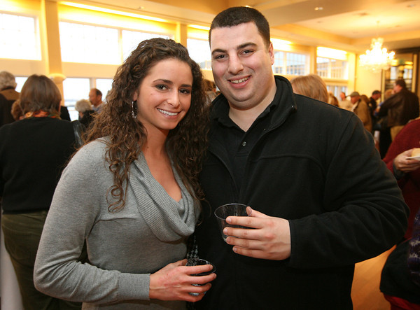 Emma Delphin and Mike Orlando attend the 2nd Annual Taste of Cape Ann at Cruiseport on March 23rd. The event, which is sponsored by the Gloucester Daily Times and Cape Ann Magazine, is a fundraiser for the Open Door Food Pantry and Cape Ann Animal Aid. Photo by Kate Glass