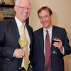Gloucester: Supporter's Wally Hess and Garth Greimann have a glass of wine at Gloucester Stage Company Gala held at Cruiseport Friday May 20th. Desi Smith/Gloucester Daily Times