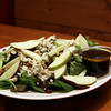 Seasonal Salad with Apples, Blue Cheese, Walnuts, Dried Cranberries over Mixed Greens at The Farm Bar & Grill.<br /> Photo by David Le.