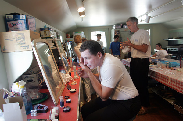 One of the highlights of the Annisquam Village Sea Fair is the WaxWorks show. Photo by Mary Muckenhoupt.