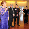 Gloucester, Bea Waring President of the Gloucester Stage Company, speaks at a fundraiser held at Cruiseport May 20,2011 Desi Smith/Gloucester Daily Times.