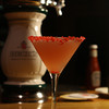 One of the specialtiy drinks, A Pop Rocks Martini, at The Farm Bar & Grille in Essex.<br /> Photo by David Lee