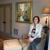 Joyce Fossa sits s her bedroom of her Andrews Hollow in Rockport. <br /> Photo by Amy Sweeney.