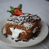 """Georgia's Toast"" which is graham coated, marshmallow and chocolate stuffed French Toast.<br /> Desi Smith Photo"