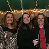 Gloucester: From left Rosalie Lentini, of Classic Cooks, Hannah Fonti, and Pam Ferris attend the Taste of Magnolia Friday night. Photo by Mary Muckenhoupt