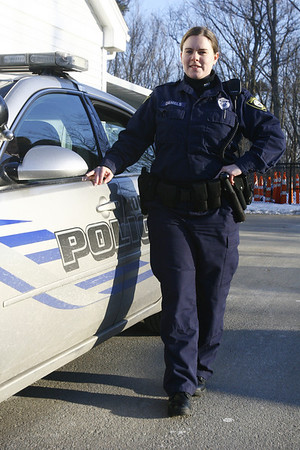 Rockport: Rockport Police Officer Colleen Daniels. Photo by Kate Glass/Cape Ann Magazine