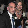 Out going President Steve Kaity of thr Strong Group and past President Ruth Pino pose for a photo at the Cape Ann Chamber of Commerce 87th Annual Dinner-Dance Saturday, January 24, 2009 at the Tavern on the Harbor.
