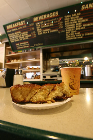 Rockport: The Norwegian coffee bread at  The Coffee Shop. Photo by Kate Glass/Cape Ann Magazine <br /> <br /> <br /> <br /> .