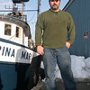 Al Cottone on his boat, The Sabrina Maria, in Gloucester Harbor. Photo by Mary Muckenhoupt/Cape Ann Magazine.