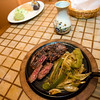 Sizzling steak fajitas at Jalapenos Restaurant located at 86 Main Street, Gloucester. Photo by Mary Muckenhoupt.