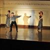 "Joe Poirier sings ""She's a Lady"" as Tom Jones with Katherine Thompson and Jane Poirier.   Photo by Desi Smith"