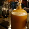 The fermentation lock prevents air from getting into the carboy.<br />  Photo by Kate Glass