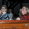 Mayor Carolyn Kirk watches the Fashion Show benefit for the Gloucester City Hall Restoration Fund. Photo by Desi Smith.