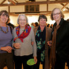 """Masterpieces in Miniature""  reception at the Rockport Art Association, November 20, 2009<br /> Nancy Mears, Christine Pitman, Marny Williams and Marilyn Swift. Photo by Mary Muckenhoupt"