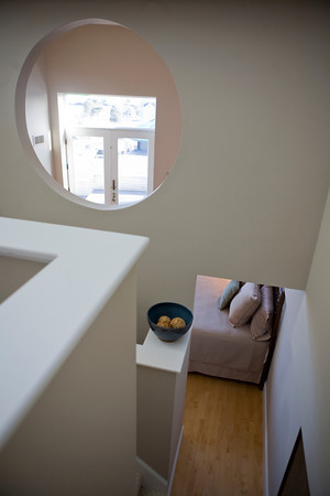 This view shows what Steel sees from the loft above her bedroom. Photo by Amy Sweeney.