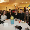 Lobstertrap Tree Buoy Auction at Cruiseport January 29, 2010<br /> From left, Katie Withers, Sylis Perry, Laura Tejeda, Margaurita Spear, Ryan Burke, Amelia Leonards and Pam Amaral. Photo by Mary Muckenhoupt