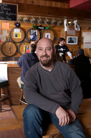Jeremy Goldberg, Head Brewer at Cape Ann Brewing Company.