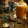 The liquid is separated from the yeast during the racking process.<br />  Photo by Kate Glass