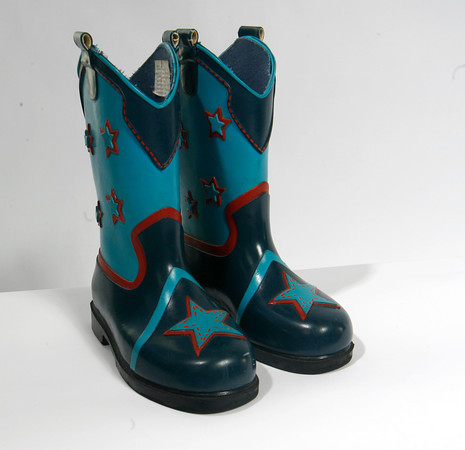 These boots are perfect for puddle jumpin' in the rain, $8. Time For A Change, Essex.