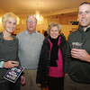 Lobstertrap Tree Buoy Auction at Cruiseport January 29, 2010<br /> From left, Karen Conant, Stuart Conant, Cynthia Conant and Jon Conant. Photo by Mary Muckenhoupt