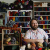 Roger Darrigrand/Cape Ann Magazine Rob Porter, owner of Coveted Yarn on E Main Street in Gloucester.