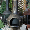 Stay warm when the sun goes down with this cast iron chiminea, $279. Wolf Hill Garden Center, Gloucester.