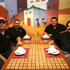 Jalapeno's Owners: Steve Bradley, from, left,  Luis Pardo,  Alejandro Pardo, Jaime Mora. <br /> Photo by Kate Glass.
