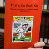 "Local author, Ed Brown, recently published a book, ""That's the stuff Kid"" The life and times of baseball legend Stuffy McInnis."" The Gloucester baseball legend was member of the Red Sox in the 1918 World Series.  Photo by Mary Muckenhoupt."