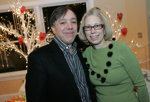 """John and Kathy Nicastro attend """"A Swinging Valentine's Dance"""" to raise money for the Cape Ann Symphony at Cruiseport Gloucester Friday, February 4. Photo by Mary Muckenhoupt"""