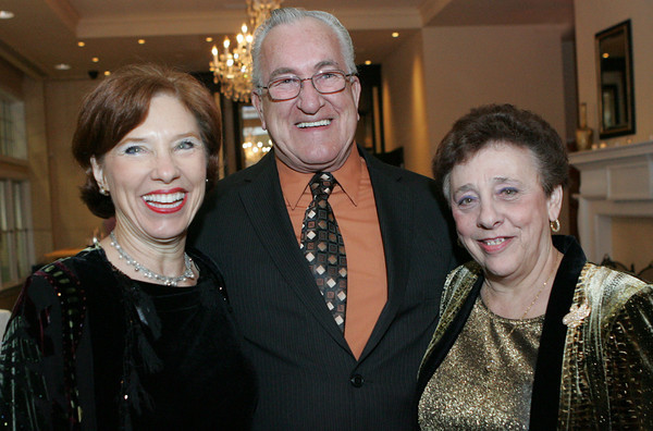 "From left, Wendy Betts with Tina and Ron LaFlam attend ""A Swinging Valentine's Dance"" to raise money for the Cape Ann Symphony Orchestra at Cruiseport Gloucester Friday, February 4. Photo by Mary Muckenhoupt"