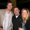 """Gail McCarthy/Cape Ann Magazine. At the """"Wicked Tuna"""" season two premiere in Boston, Drew Hale, co-director of Gloucester's Bluefin Blowout fishing tournament, and his wife Lindsay flank xxxx."""